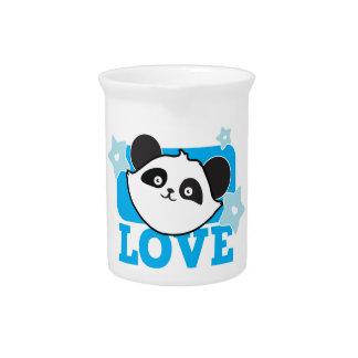LOVE panda Super cute Kawaii! NP Drink Pitcher