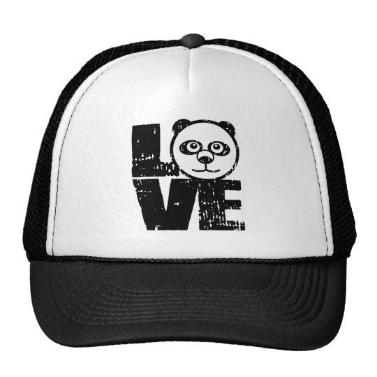 Love Panda Trucker Hat