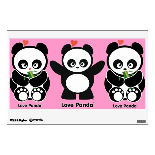 Love Panda® Wall Decal
