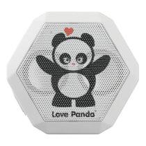 Love Panda® White Bluetooth Speaker