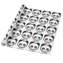 Love Panda® Wrapping Paper