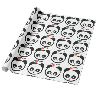 Love Panda® Gift Wrapping Paper