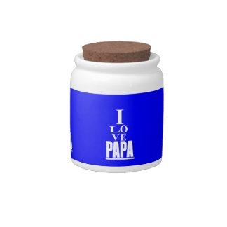 Love PaPa Image Candy Dish