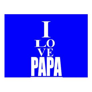 Love PaPa Image Postcard
