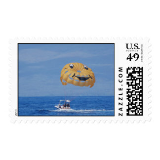 Love Parasailing Stamps