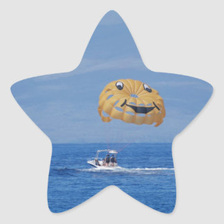 Love Parasailing Stickers