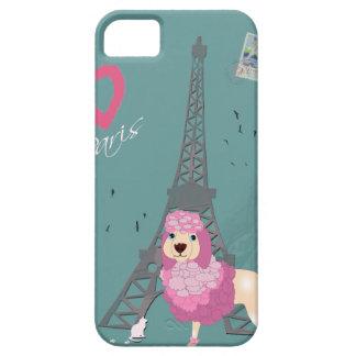 Love Paris Dog iPhone SE/5/5s Case
