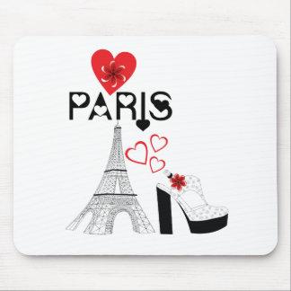 Love Paris fashion Mouse Pad