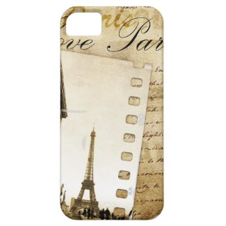 Love Paris iPhone Case