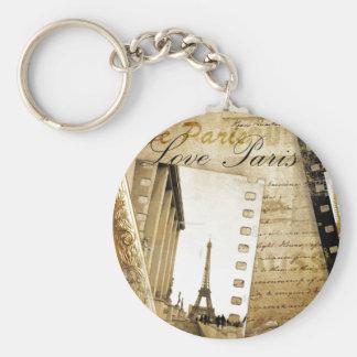 Love Paris Key Chain