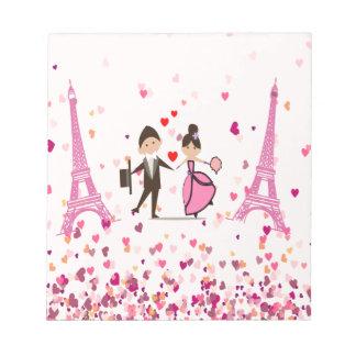 LOVE PARIS NOTE PAD
