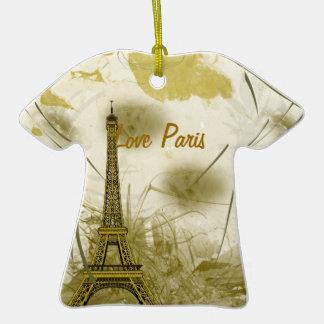 Love Paris  Ornament