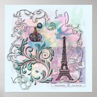 Love, Paris Poster
