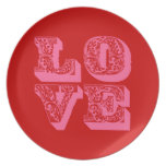 LOVE PARTY PLATE