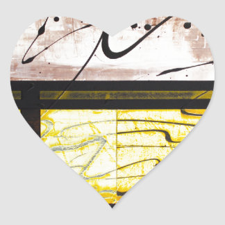 love passion PROCLAMATION OF ILLUMINATIONS Heart Sticker