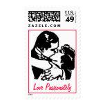 """Love Passionately"" stamp"