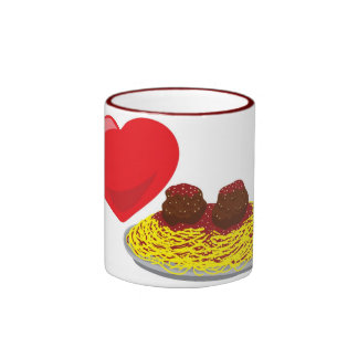 Love pasta!  Customizable: Ringer Mug