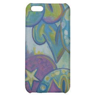 Love, pastel graffiti style case for iPhone 5C