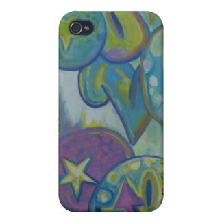 Love, pastel graffiti style iPhone 4 covers