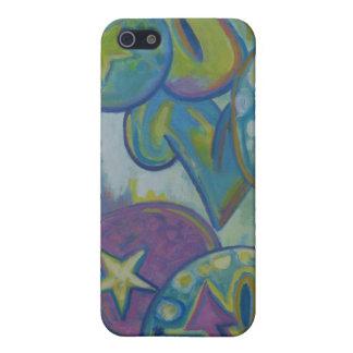 Love, pastel graffiti style iPhone 5 case