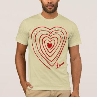 Love Path Doodle Art T-Shirt
