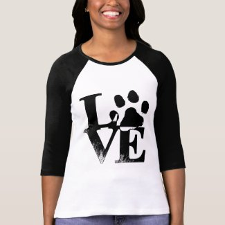 Love Paw 3/4 Length Sleeve