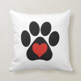 Love Paw Pillow