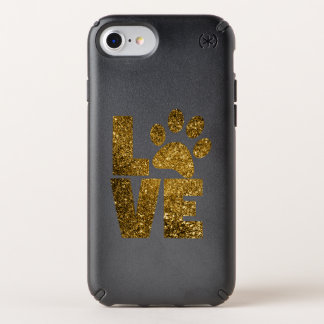 Love Pawprint Speck Presidio iPhone 8/7/6s/6 Case