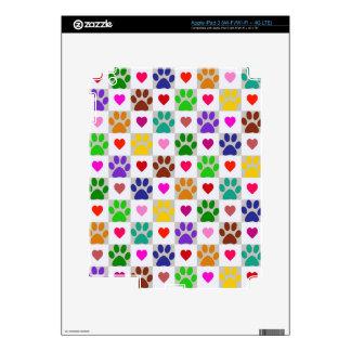 LOVE PAWS iPad Skin