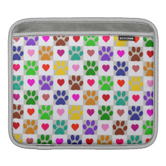 LOVE PAWS iPad Sleeve