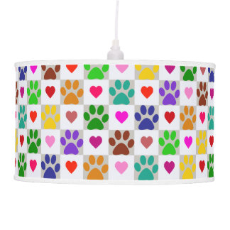 LOVE PAWS PENDANT LAMP