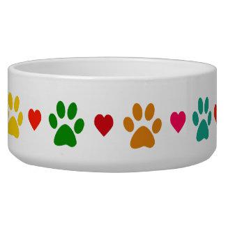 LOVE PAWS Pet Bowl
