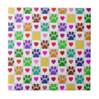 LOVE PAWS Tile