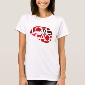 Love&Pe a c e T-shirts