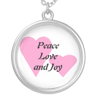 Love Peace and Joy Necklace