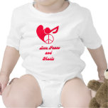 love, peace and music shirts