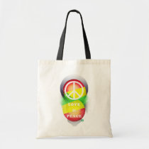 music, hip-hop, rock, illustration, monotone, graphics, funny, cool, vintage, rasta, reggae, street, stylish, urban, cute, pop, bulb, colorful, art, design, summer, love, peace, hip hop, rastafarian, jah, pop art, Bag with custom graphic design