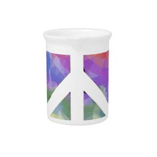Love Peace Beverage Pitcher