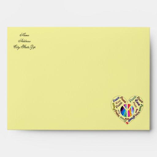 Love & Peace_Envelope Envelopes