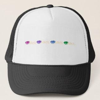 Love, Peace, Freedom & Joy Birds Trucker Hat