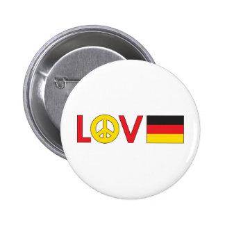 Love Peace Germany Pins