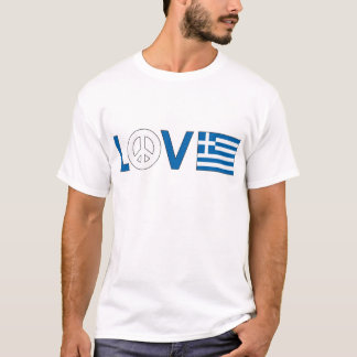 Love Peace Greece T-Shirt