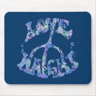 Love-Peace-Haight Mouse Pad