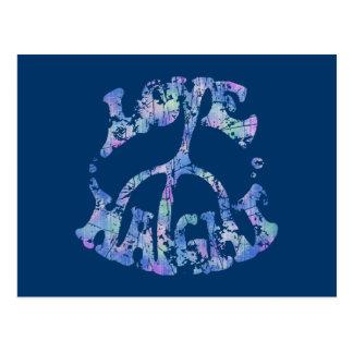 Love-Peace-Haight Post Card