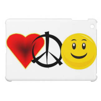Love Peace Happiness iPad Mini Case