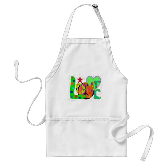 Love PEACE & Harmony T-Shirts and Gifts Adult Apron