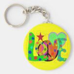 Love PEACE & Harmony T-Shirts and Gifts Keychains