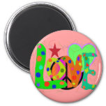 Love PEACE & Harmony T-Shirts and Gifts Fridge Magnets