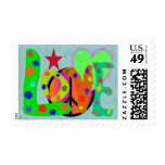 Love PEACE & Harmony T-Shirts and Gifts Postage Stamp