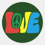 Love Peace hippie